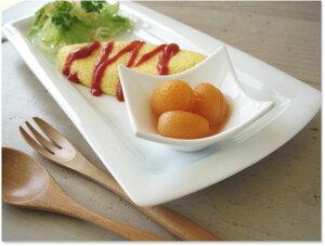 【見栄えがグンとアップする真っ白小鉢】4種類 ◎アウトレット / おしゃれ 小鉢 かわいい スクエア 四角鉢 つき出し おつまみ 醤油皿 タレ入れ 豆鉢
