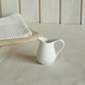Italyイタリー【ミルクピッチャー_S】/ クリーマー ミルクポット ミルク入れ フレッシュ コーヒーミルク入れ 陶器 陶磁器 おしゃれ かわいい シロップ入れ