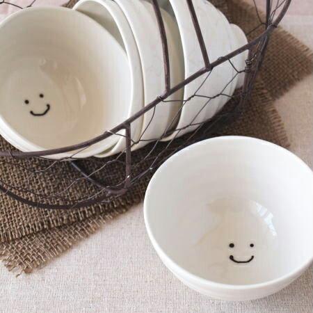 たたら 【にこ】 ぐるぐる ご飯茶碗 L (N-2)