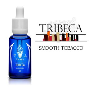 Halo(ヘイロー)TRIBECA (トライベッカ) 30mlバニラ ・ キャラメルを感じる滑らかタバコ味電子タバコ ベイプ ヴェイプ VAPE リキッド 送料無料 E-liquid