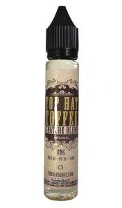 Top Hat Toffee 30ml(トップ ハット トフィー)The Vapor Hut(ベイパー ハット)バターとナッツのお菓子タフィー味 海外 USA アメリカ産 電子タバコ ベイプ ヴェイプ VAPE リキッド 送料無料 E-liquid