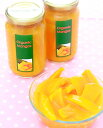 【送料無料・激安ケース購入】オーガニック完熟マンゴーの果汁浸け350g 12本(有機JAS・砂糖不使用)