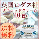 【英国老舗ロダス社】本場のクロテッドクリーム5個セット