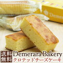 <送料無料>『デメララ・ベーカリー』 イングリッシュチーズケーキwithクロテッドクリーム 3種のチーズの絶妙ブレンド
