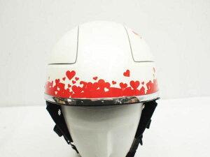汎用 女子必見 ヘルメットに 可愛いハートライン ステッカー 長期使用 簡単カスタム 初心者 デコレーション 透明シート ハート ワンポイント