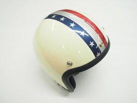 ヘルメット カスタムステッカー アメリカライン メタリックカラー 星条旗 戦闘機 汎用 ジェットヘルメット 半ヘル 半キャップ 防水加工 屋外対応 カスタム デカール