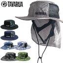 TAVARUA タバルア メンズ TM1006 スタンダードサンシェードサーフハット 日よけつき UVケア 男性用 日焼け防止 日焼け…