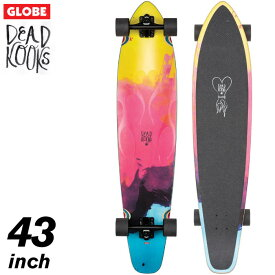 GLOBE グローブスケートボード コンプリート Byron Bay - DEAD KOOKS 43インチ バイロンベイ デッドクークス #10525175 ロングボード ロングスケボー クルーザー サーフスケート サーフィン トレーニング 【あす楽対応】