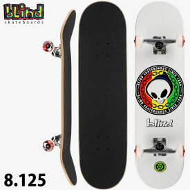 Blind ブラインド コンプリート スケートボード Rasta Reaper 8.125 Complete Skateboard スケボー SKATE ストリート 完成品 【あす楽対応】