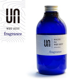 【12/31まで!PT10倍中】ウェットシャンプー UN アン WASH for WETSUIT fragrance ウォッシュ フレグランス 500ml ウェットスーツ用 ウエットスーツ用 ドライスーツ用 【あす楽対応】