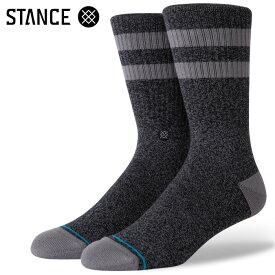 STANCE SOCKS スタンスソックス メンズ靴下 JOVEN - Black スケーターソックス ハイソックス メンズソックス 【あす楽対応】