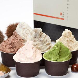 送料無料 アイス アイスクリーム ジェラード ギフト 甘栗 栗 濃厚 熨斗 のし お取り寄せ スイーツ デザート 人気 ご褒美 ランキング1位 神戸SELECTION認定 プレミアム ジェラート 6個 セット