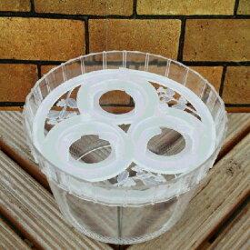 水栽培ポット ヒヤシンス3球用 1鉢