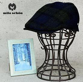 キャッシュレス 帽子 5%還元 耳当て付き ハンチング 送料無料【MilaSchon】ミラショーン 耳当て付き 2way ハンチング 帽子 メンズ 秋 冬 大きいサイズ 防寒 日本製 アラフォー おしゃれ 50代 帽子 60代 メンズハット 紳士帽子