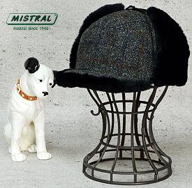 耳あて付 飛行帽 送料無料【MISTRAL ミストラル】フランス製 耳あて付 飛行帽 防寒帽子 メンズ 秋冬 大きいサイズ キャッシュレス 帽子 5%還元