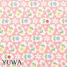 [A]有輪商店 シーティング生地 ミニミニフラワー Cピンク 10cm AT826577 YUWA 松山敦子 MATSUYAMA ATSUKO