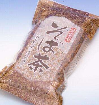玄米をブレンドしたそば茶200g