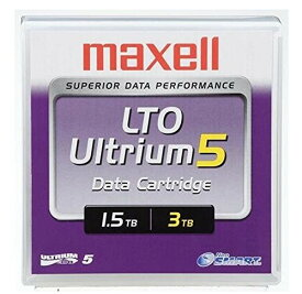 maxell LTO Ultrium5 データカートリッジ(1.5TB/圧縮時3TB) 1巻パック LTOU5/1500 XJ B