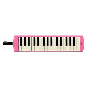 ヤマハ YAMAHA PIANICA ピアニカ 鍵盤ハーモニカ 32鍵 ピンク P-32EP 子どもたちの使い勝手を追求した新しいデザイン 同系色のプラスチック製ハードケース付属