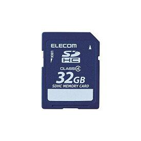 【ポイント3倍】エレコム microSD 32GB Class4 データ復旧サービス MF-FSD032GC4R