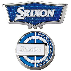 DUNLOP(ダンロップ) グリーンマーカー SRIXON スタンドアップマーカー&クリップ GGF-18119 ブルー