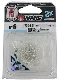 ラパラ(Rapala) VMC 7554 2X ストロングインライン トレブル TI #6 16pcs 7554 2X STRONGE INLINE TREBLE 7554TI0008N1J
