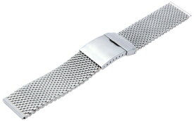 時計ベルト 時計バンド カシス製腕時計ベルト メッシュミラー V06000H4 22mm 腕時計ベルト 時計 ベルト バンド|腕時計 替え メッシュ ベルト交換 替えベルト メッシュベルト 腕時計用ベルト カシス 腕時計バンド メンズ 金属 ベルトだけ シルバー 銀 メッシュバンド