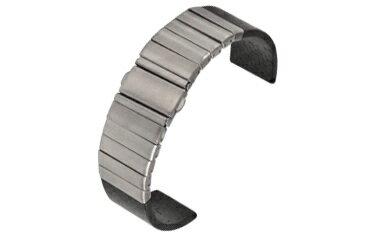 時計ベルト 時計 ベルト カーボン/ステンレススチール CASSIS カシス CARBON カーボン v11000h7 20mm 時計 バンド 時計バンド 替えベルト 替えバンド ベルト 交換