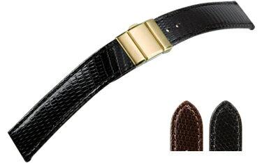 時計 ベルト 時計ベルト リザード U1079 16mm 18mm 20mm 時計 バンド 時計バンド 替えベルト 替えバンド ベルト 交換