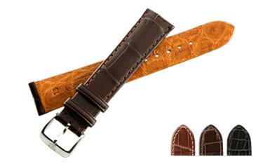 時計 ベルト 時計ベルト アリゲーター U1602 18mm 20mm 22mm バンド 時計バンド 替えベルト 替えバンド ベルト交換 | 腕時計 革ベルト 腕時計ベルト ブランド メンズ 高級 本革 腕時計バンド ウォッチバンド 本革ベルト ベルトだけ 通勤 腕時計用ベルト 時計用ベルト