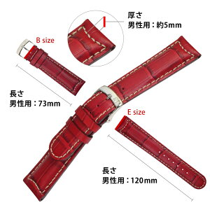 MORELLATO社製交換用の腕時計ベルトGUTTUSO