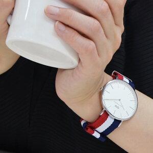カシス時計ベルトTYPENATOLOOP(タイプナトーループ)装着イメージ