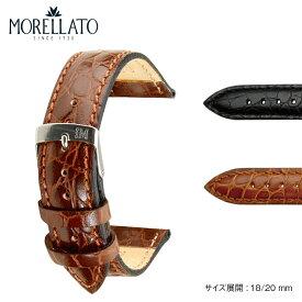 時計ベルト 時計 ベルト カーフ 牛革 MORELLATO モレラート LIVERPOOL リバプール エクストラロング 寸長 k0751376 18mm 20mm 時計 バンド 時計バンド 替えベルト 替えバンド ベルト 交換