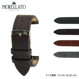 時計 ベルト 時計ベルト シンセティックレザー(合成皮革) MORELLATO モレラート ABETE アベーテ x3686a39 14mm 16mm 18mm 20mm 時計 バンド 時計バンド 替えベルト 替えバンド ベルト 交換