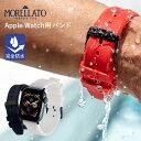アップルウォッチ バンド ベルト スポーツ apple watch series 6,SE,5,4,3,2,1 シリコン ラバー 38mm 40mm モレラート…