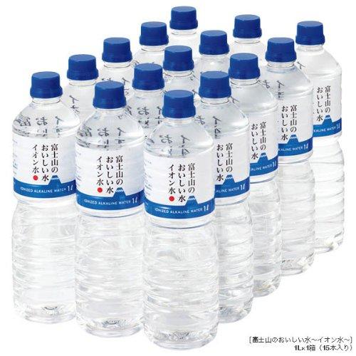 富士山のおいしい水 イオン水 1,000ml×15本