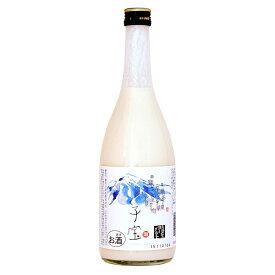 リキュール 山形 楯の川酒造 子宝 鳥海山麓ヨーグルト(白ラベル) 8度 720ml
