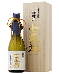 日本酒 地酒 山形 楯の川酒造 楯野川 純米大吟醸 七星旗 箱付 720ml