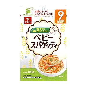 はくばく 食塩不使用 無塩 ベビースパゲティ 100gx10袋 1ケース【無料包装・のし対応可能】