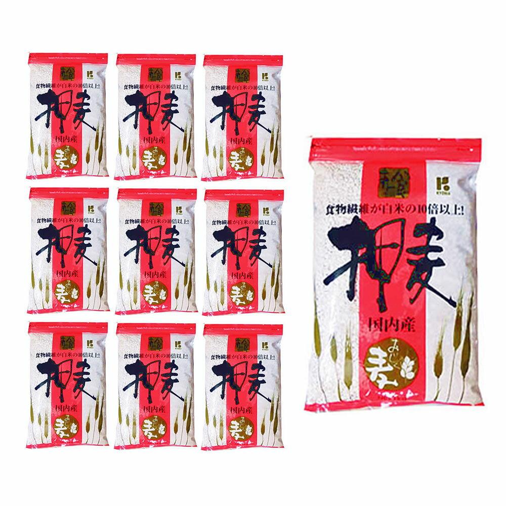 【送料無料】押麦 1kg x 10袋 (1ケース) ※協和精麦ほか メーカー指定はできません