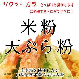 【送料無料】米粉 天ぷら粉(山梨県米使用) 900g
