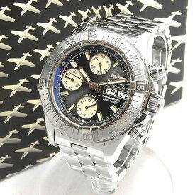 BREITLING ブライトリング スーパーオーシャン クロノグラフ オートマチック 腕時計 A13340 【中古】