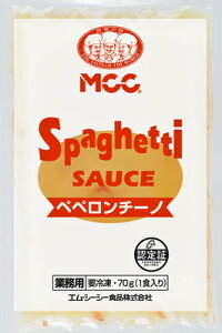 MCC スパゲティソースペペロンチーノ 70g【5個セット】