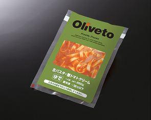 ヤヨイサンフーズ Oliveto生パスタ・蟹トマトリクーム 260g