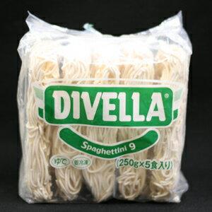 DIVELLA(ディベラ) スパゲッティーニ 1.6mm 冷凍パスタ 250gx5食パック