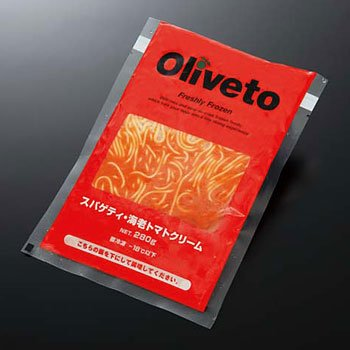 【今月のポイントアップ商品】ヤヨイサンフーズ Olivetoスパゲッティ・海老トマトクリームソース 280g【ポイント3倍】