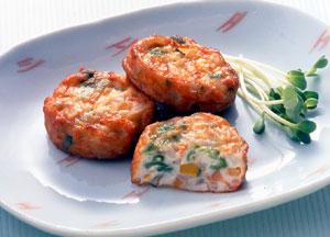 テーブルマーク 野菜の五色揚げ 1kg(20g×50個入り)