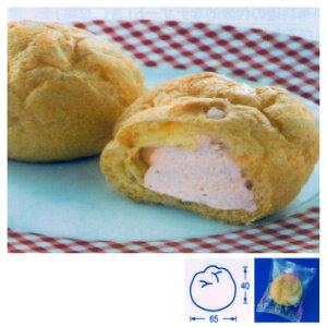 テーブルマーク 国産小麦粉使用 シュークリーム(いちご) 22g×40個入りケース×4箱【送料割引除外品】【1ケースまで1個口】