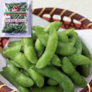 【冷凍】塩味枝豆(香り豆) 500G (ニチレイフーズ/まめ)