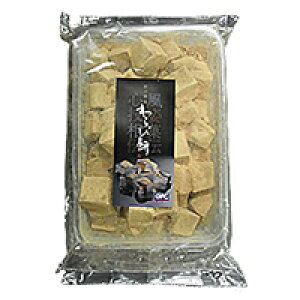 【冷凍】わらび餅 黒糖 1KG (ジーエフシー/和風デザート)